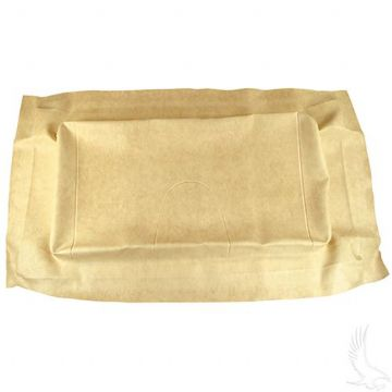 Club Car, Seat Bottom Cover, Precedent - Beige